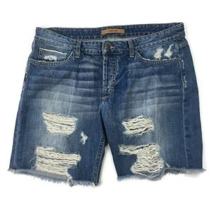 Joe's Jeans Collector Selvedge Finn Bermuda Shorts